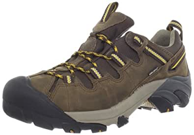KEEN Men's Targhee II Hiking Shoe,Cascade Brown/Golden Yellow,7 M US