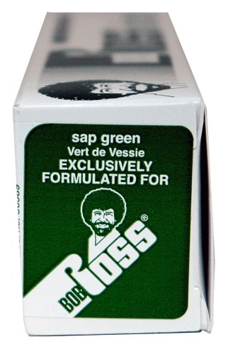 Color Sap Green - BobRoss R6121 150-Ml Artist Oil Color, Sap Green