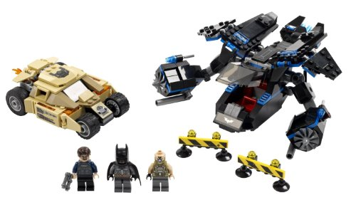LEGO Super Heroes Tumbler Chase 76001 (Armored Police)