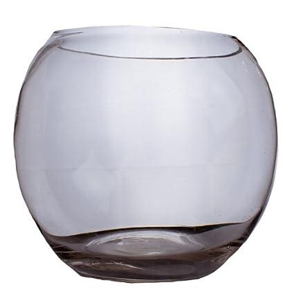 Cristal pecera jarrón – 21 cm x 24 cm