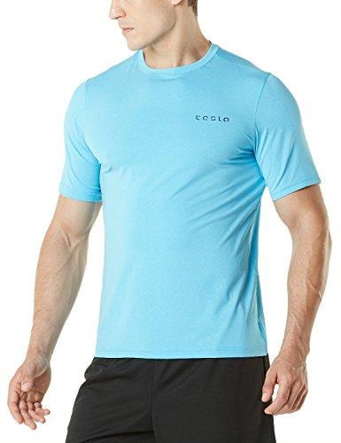 Tesla Men & Women's HyperDri Short Sleeve T-Shirt Athletic Cool Running Top MTS Series