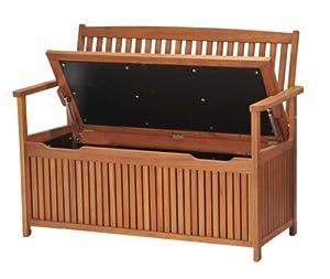 Chichester Fsc Eucalyptus Wood Outdoor 2 Seater Storage