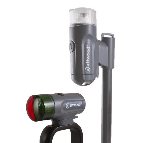 (attwood 14180-7 Portable LED Navigation Light Kit )