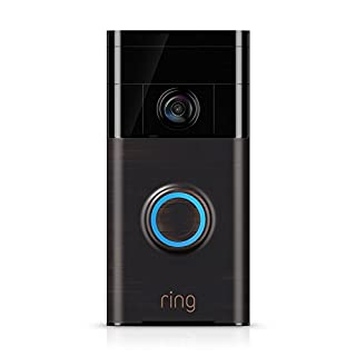 Ring Video Doorbell (1st Gen) – 720p HD video, motion activated alerts, easy installation – Venetian Bronze