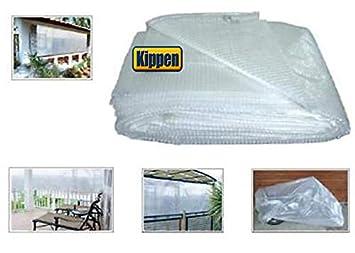 Telo Retinato Kippen 6057A1 2 x 3 mt. Bianco//Trasparente