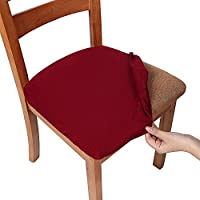 Smiry Stretch Spandex Jacquard Dining Room Chair Seat...