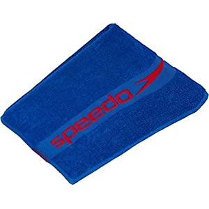 Speedo Aqua Sports 100% Soft Cotton Woven Border Design Swim Towel