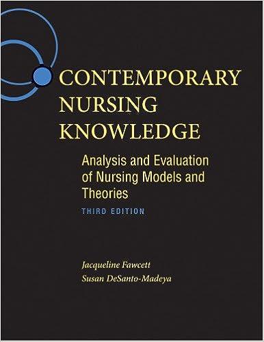jacqueline fawcett metaparadigm of nursing