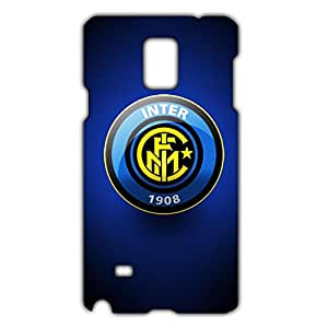 Inter Logo Phone Case for Samsung Galaxy Note 4 3D Hard Black Plastic Cover