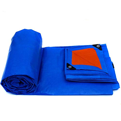 ATR tarp Plane Blue tarp Waterproof Plastic Tarpaulin Sun Visor (Color: B, Size: 2m 3m (Furniture Garden B&ms)