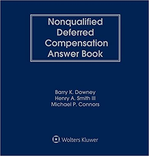 Book Nonqualified Deferred Compensation Answer Book