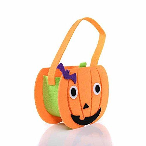 Flying Fish Halloween Pumpkin Trick or Treat Bag