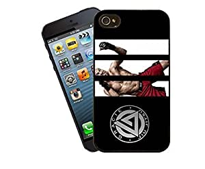 Eclipse Gift Ideas Martial Arts - Gracie & Randy Coutour Phone Case Design For iPhone 4 / 4s - Cover
