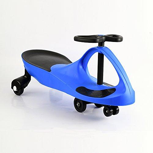 Apelila Wiggle Car Ride On Toy Twist Go Swivel Scooter Swing Gyro Car, for Kid Child (Swing Car)
