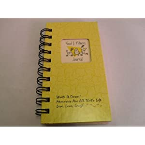 1 X Food & Fitness Journal – MINI Buttercup Hard Cover NEW TITLE! 41R0WIW5eFL  Get Healthy Today! 41R0WIW5eFL