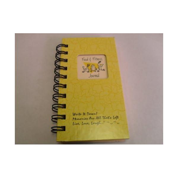 1 X Food & Fitness Journal – MINI Buttercup Hard Cover NEW TITLE! 41R0WIW5eFL