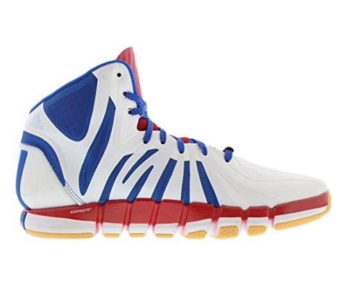 Zapatillas Adidas D Rose 4.5 Basketball, Para Hombre, Blancas / Azules / Rojas
