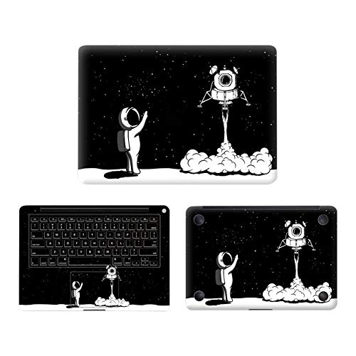 - Laptop Protective Film 3 in 1 Cover Protective Film Protective Sticker Astronaut Pattern MacBook Pro