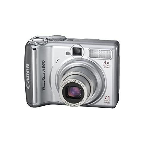 - 41R0X 1rIbL - Canon PowerShot A560 7.1MP Digital Camera with 4x Optical Zoom (OLD MODEL)