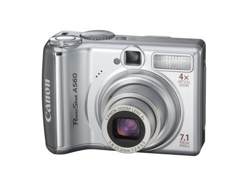 (Canon PowerShot A560 7.1MP Digital Camera with 4x Optical Zoom (OLD MODEL))