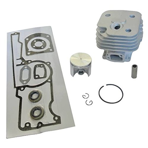 JRL 50mm Cylinder Piston Gasket Kit Set W/Oil Seal for Husqvarna 268 268XP Chainsaw