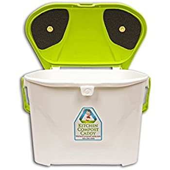 Amazon Com Kitchen Compost Caddy Cabinet Mounted Compost