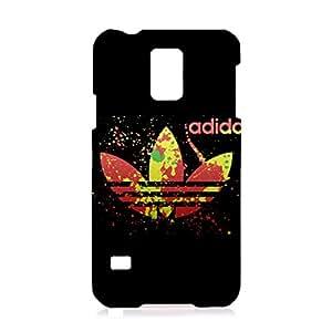 3D Phone Back Case Cover for Samsung Galaxy S5 I9600 Phone Case Adidas Logo Pretty Colors Adidas Logo