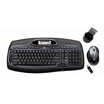 7ff79e2e2bd Logitech Cordless Desktop MX5000 Laser (967558-0403): Amazon.co.uk:  Computers & Accessories