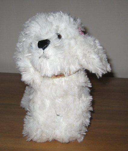 (Russ Berrie White Dog Plush Animal)
