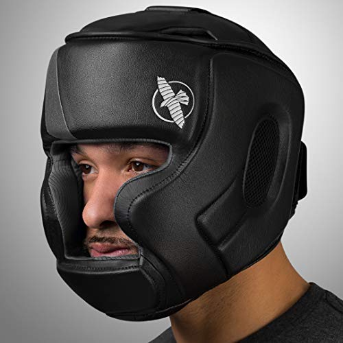 Hayabusa | T3 MMA and Boxing Headgear | Men and Women | Black/Grey | One Size