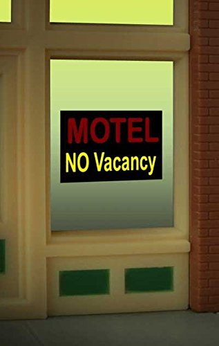 - 8975 Motel No Vacancy Window Sign by Miller Signs