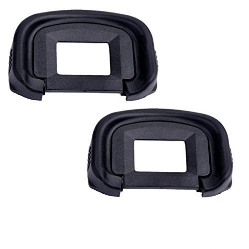 Eggsnow (2-Pack) Eyepiece Eyecup Eye Cup EG Replacement for Canon EOS-1D X / 1Ds Mark III / 1D Mark IV / 1D Mark III / EOS 5D Mark III / 7D