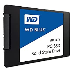 Western Digital Wd Blue Ssd Interne 1 To - Sata 6 Gbits 2,5""