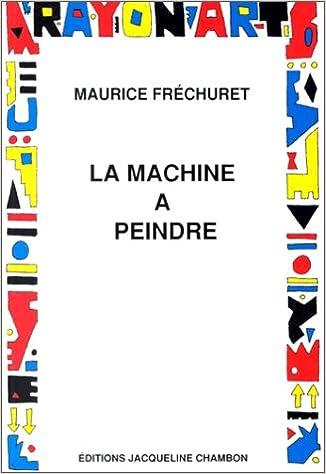 Livre gratuits La machine à peindre pdf