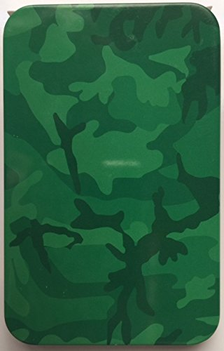Green Camouflage Camo Gift Card Box / Holder / Tin - Father's Day, Birthday, Christmas