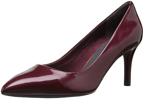 Rockport Women's Total Motion 75mm Pointy Pump Dress, Merlot Pearl, 8 M US by Rockport