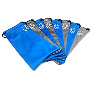 Microfiber Pouch (8 Pack) Sunglasses Eyeglasses Cell Phone