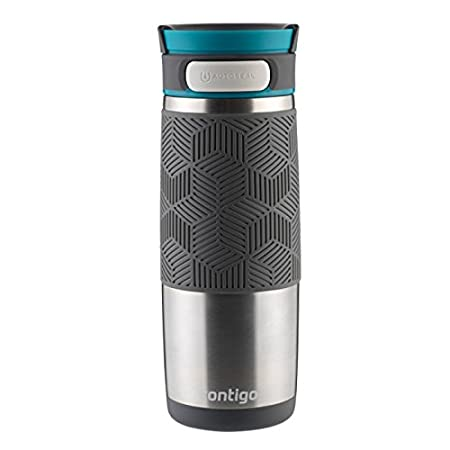 Contigo Metra - Termo antigoteo, Color Acero, 470 ML CO 1000-0623