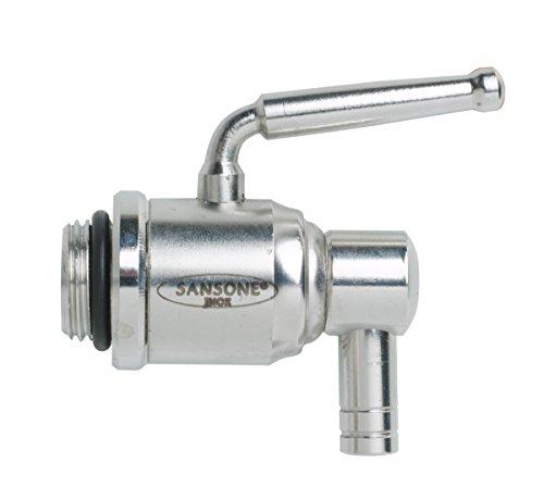 Sansone SA0013 Rustproof Stainless Steel Lever Spigot Water Cooler for Large Fustis, (Spigot Type)