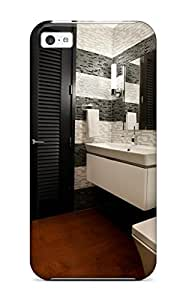 Premium Qkpoofa3354mUUvH Case With Scratch-resistant/ Contemporary Bathroom Urban Oasis Chicago Case Cover For Iphone 5c