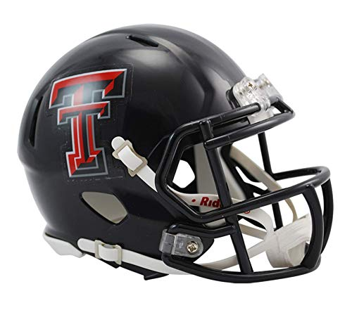 NCAA Texas Tech Red Raiders Speed Mini Helmet ()