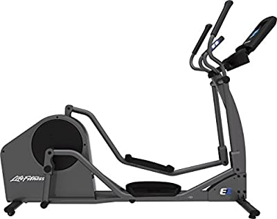 Life Fitness E1 Go Cross-Trainer, Titanium