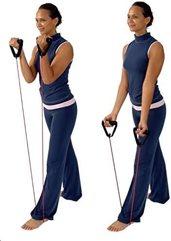 utilisateur allenato exercice Intense Tube /élastique fitness pilates Extra Fort Msd-Band MSD Tubing Bleu 1,5/mt