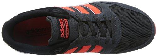 Adidas CLOUDFOAM Super 20K Herren Sportschuhe, Grau–(grpudg/rojsol/negbas) 391/3