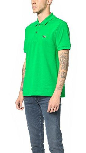 151f14bb Lacoste Men's Short Sleeve Pique L.12.12 Original Fit Polo Shirt ...