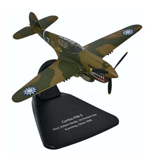 Herpa 81AC074 Curtis Warhawk P40Kampfflugzeug