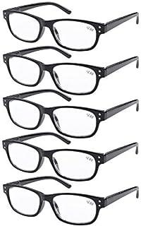 Eyekepper 5 paquetes de bisagra con muelle Vintage Gafas de ...