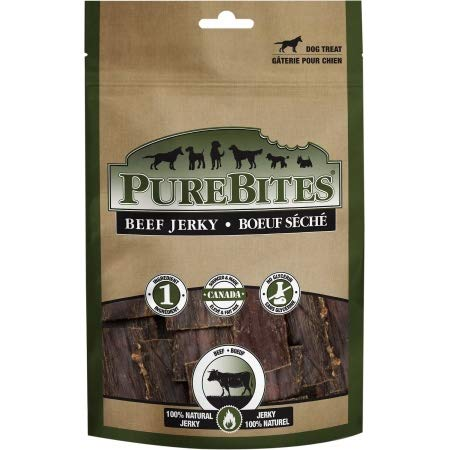 PureBites Beef Jerky Dog Treats (21 Pack)