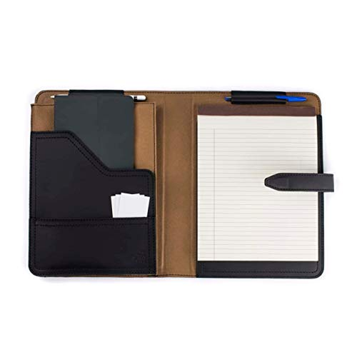 Saddleback Leather Co. Full Grain Leather Notepad Tablet Holder Includes 100 Year Warranty