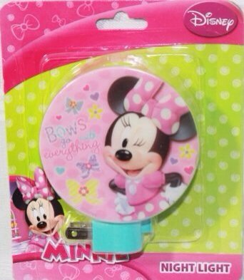 2 Pack Disney Minnie Mouse the Night Light (Design May Vary)